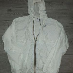 Vintage k way rain jacket